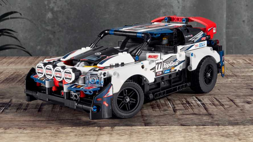 Top Gear Lego Technic rally car lets you become The Stig
