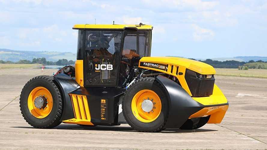 İşte karşınızda dünyanın en hızlı traktörü