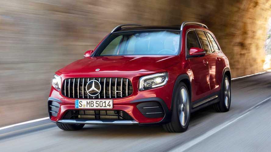 Mercedes-AMG GLB 35, 306 CV pimpanti anche fuoristrada
