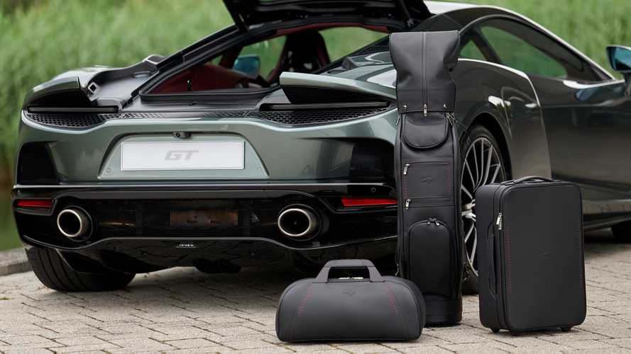 McLaren Reveals Luxury Luggage Set For Its New GT Sports Car
