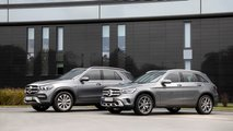 Mercedes-Benz GLE 350de and GLC 300e