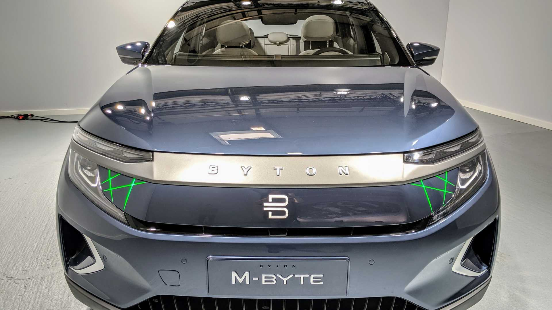 World Premier: Byton Introduces The Production M-Byte
