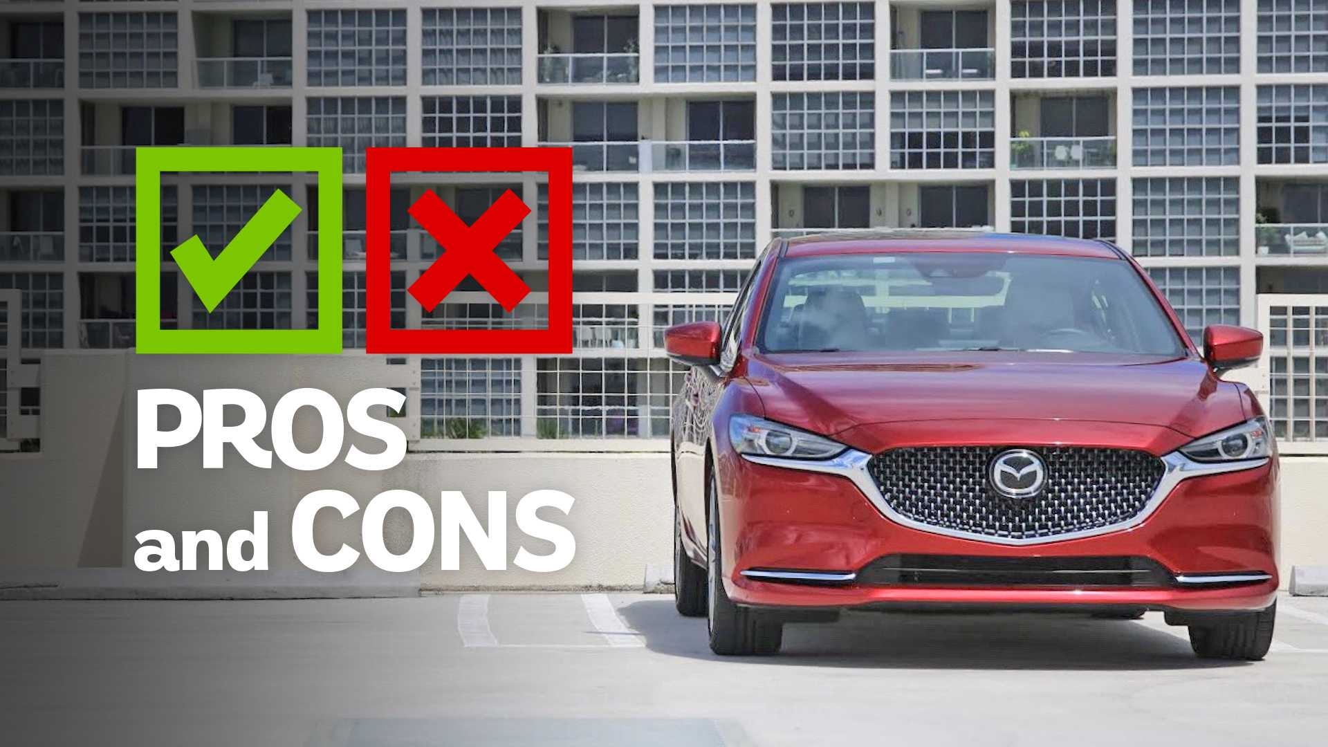 2019 Mazda6 Signature: Pros And Cons