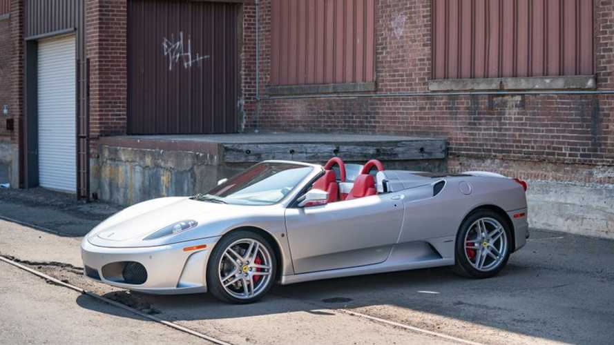 Gorgeous 2007 Ferrari F430 Spider Has A Gated Manual
