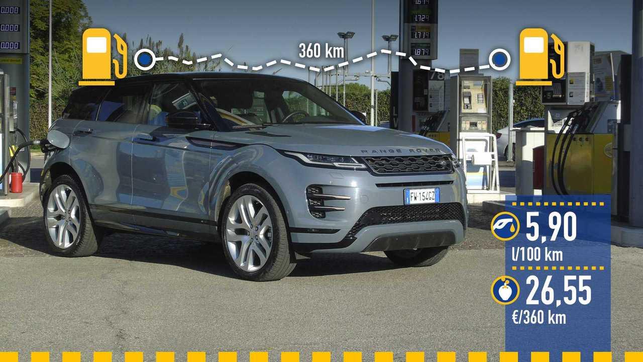 Range Rover Evoque, prueba de consumo real