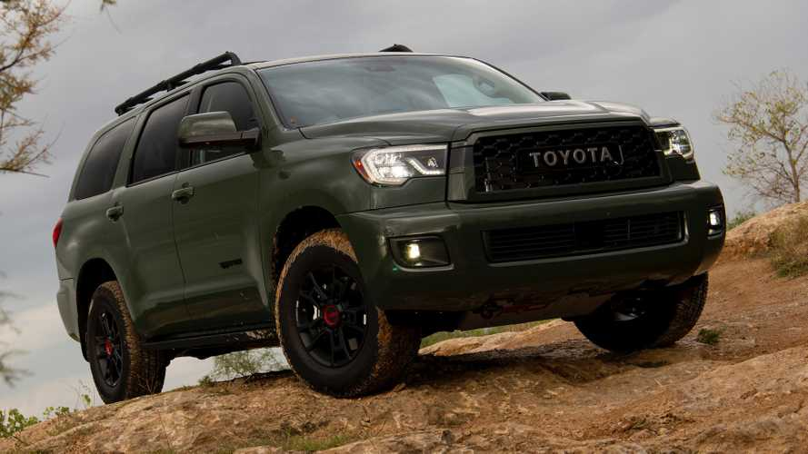 2020 toyota sequoia trd pro  first drive