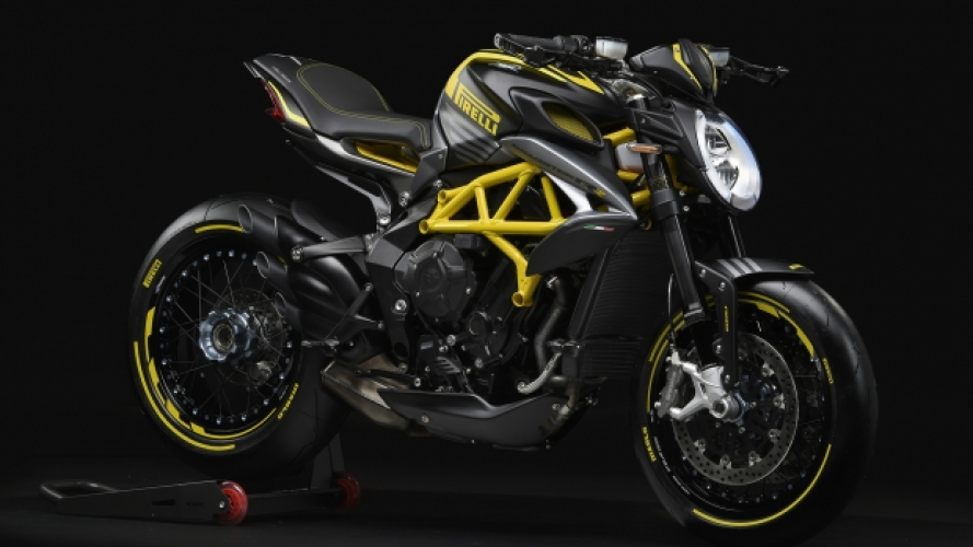 MV Agusta Dragster 800 RR Pirelli, l'ultima nata dalla partnership tra i due brand