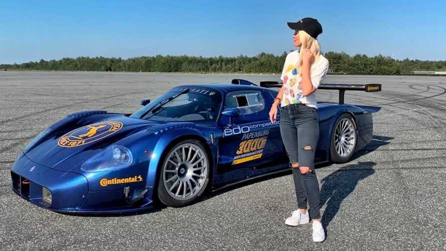 Road-Legal Maserati MC12 Corsa Is The Only One In The World