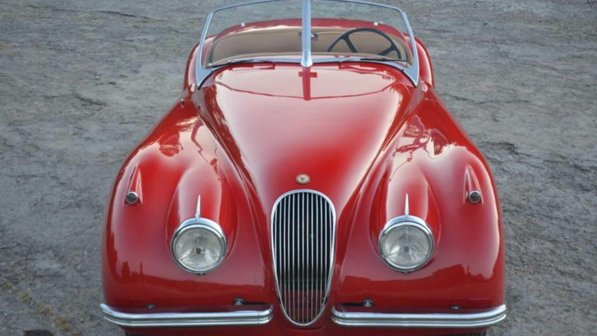 """[""""Drive This Freshly-Restored 1952 Jaguar XK120""""]"""