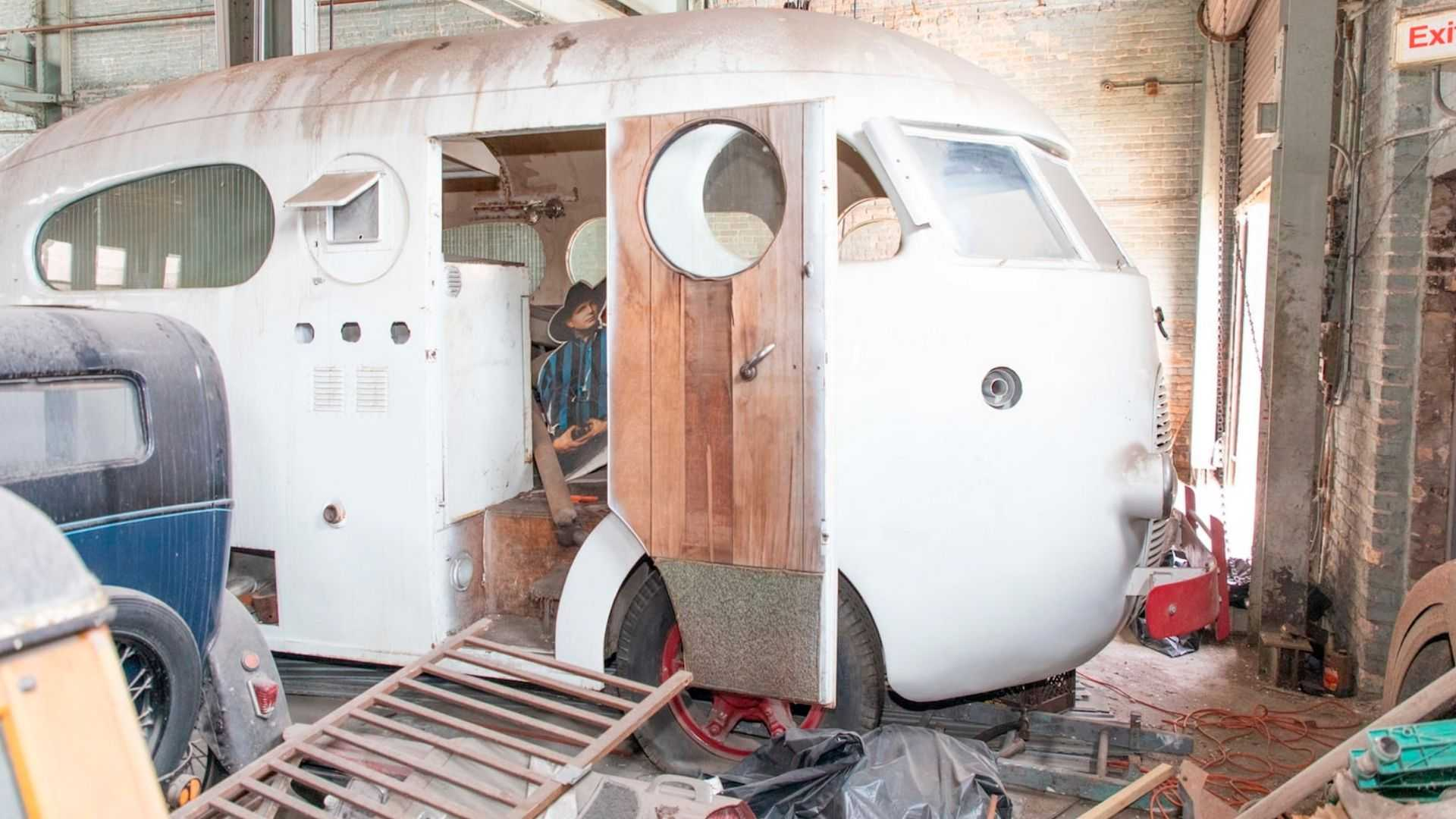 "[""1937 Western Clipper Motorhome To Sell At No Reserve""]"