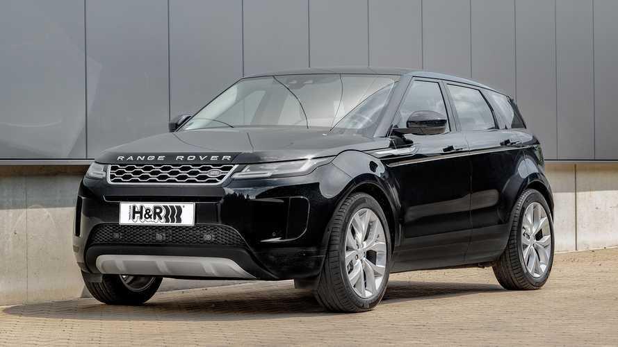 H&R-Sportfedern für den neuen Range Rover Evoque