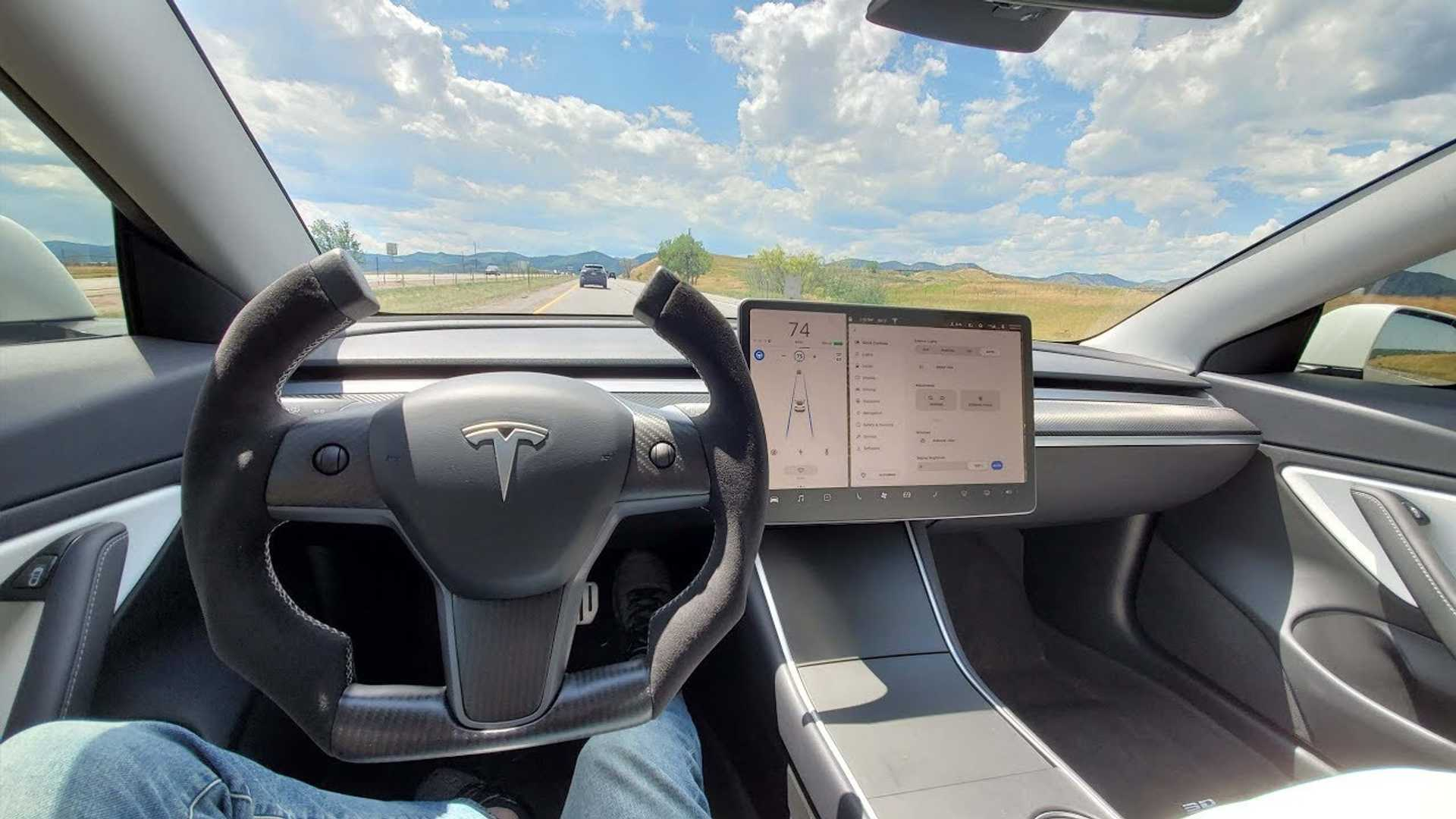 Hot Or Not Check Out This Radical Tesla Model 3 Steering Wheel