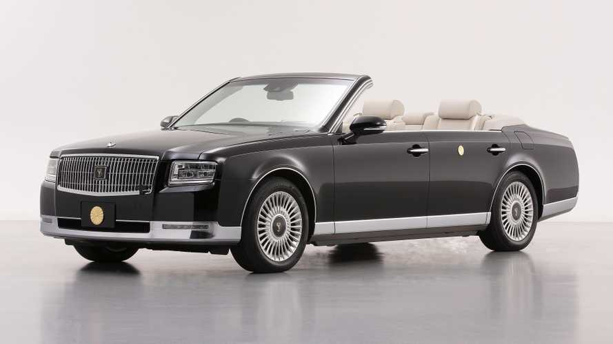 Custom Toyota Century Convertible Ready To Serve Japan's New Emperor