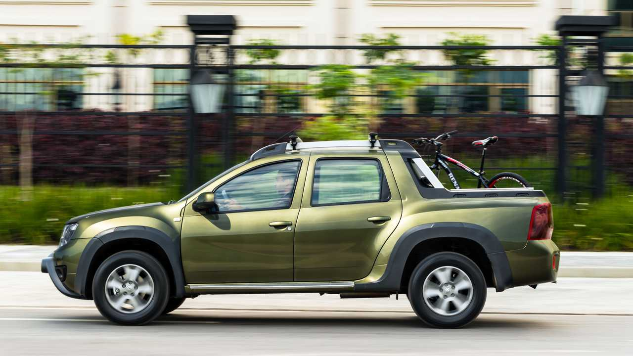 Dacia Duster pick-up (Renault Duster Oroch)