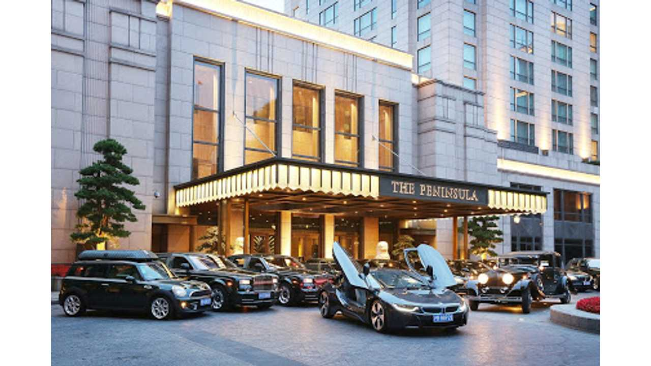 First Five-Star Hotel In The World To Feature A BMW i8 In Its Fleet
