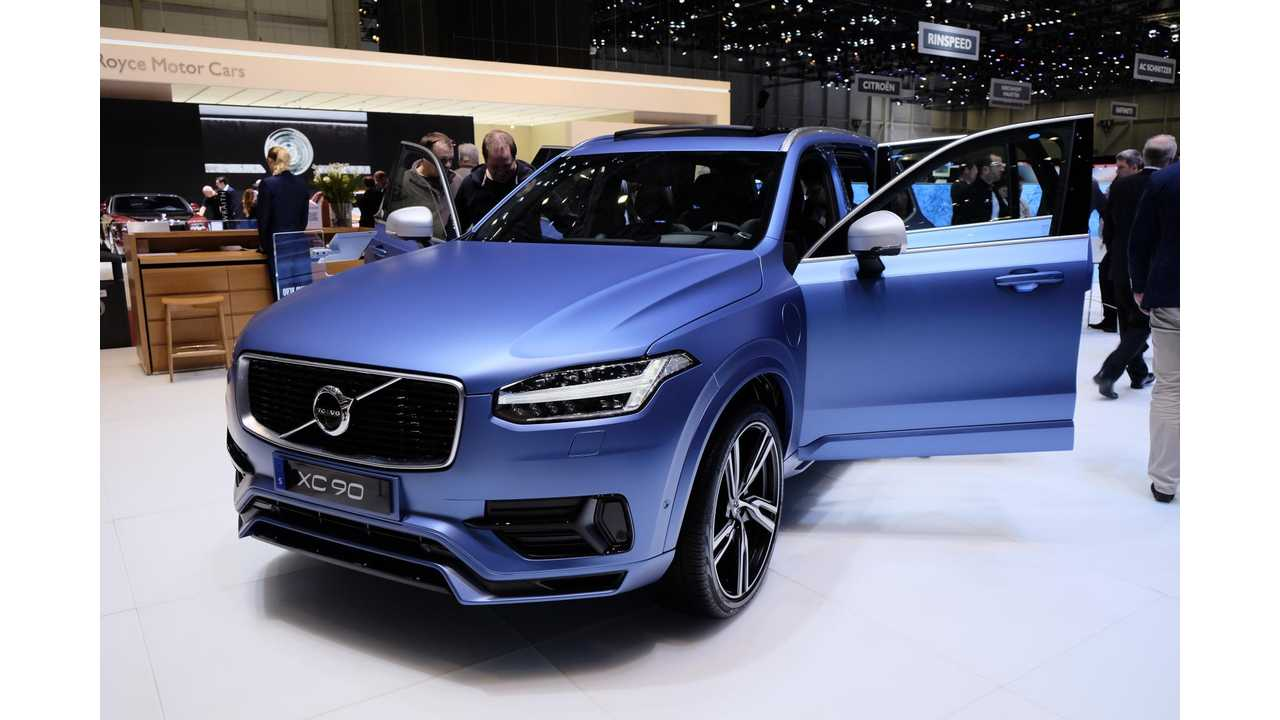 Volvo XC-90 R-Design Available On T8 PHEV Version