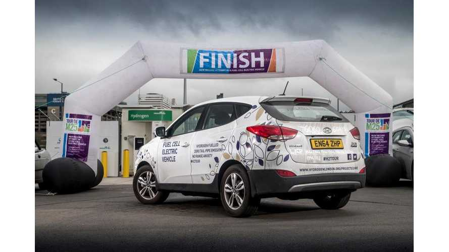 Hyundai ix35 Fuel Cell Sets Two Records: 400 Miles On Single Tank & 6,096 Miles Over Six Days