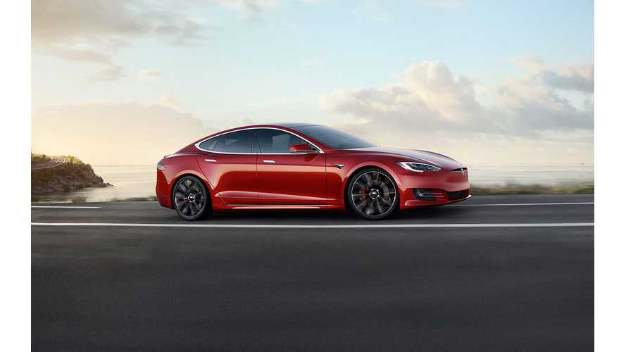 Tesla Model S Retains Europe's Top-Selling Large Luxury Car Title