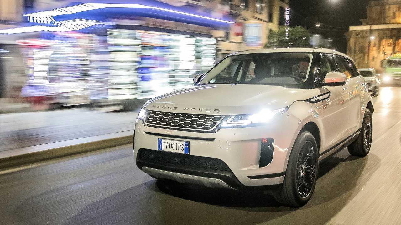 Tutto in una notte Range Rover Evoque