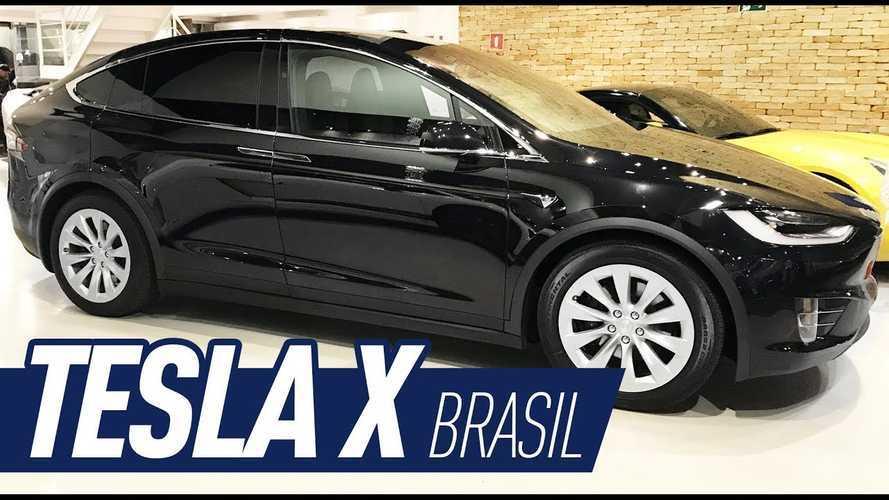 Tesla Model X Shows Up In Brazil