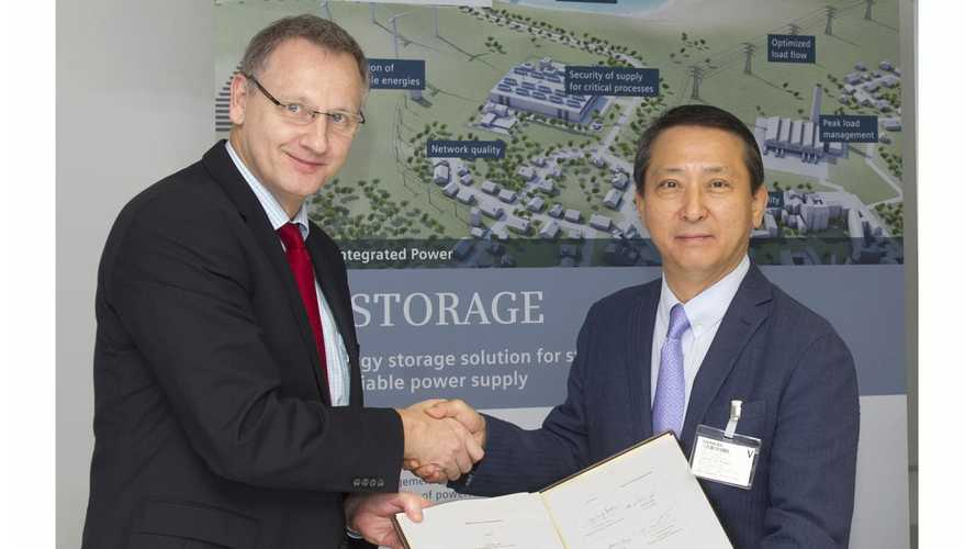 Siemens Expands Cooperative Deal With LG Chem On Battery Energy Storage Systems