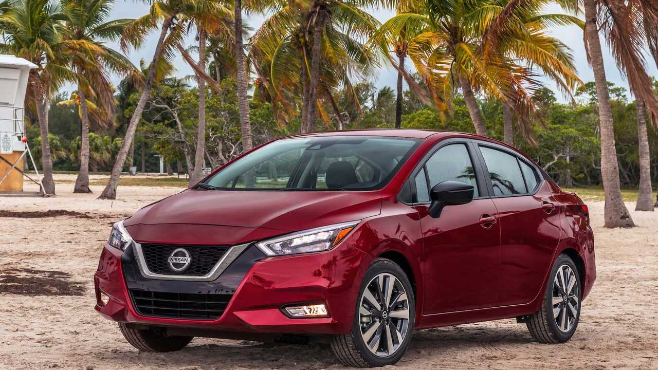 2020 Nissan Versa Unveil