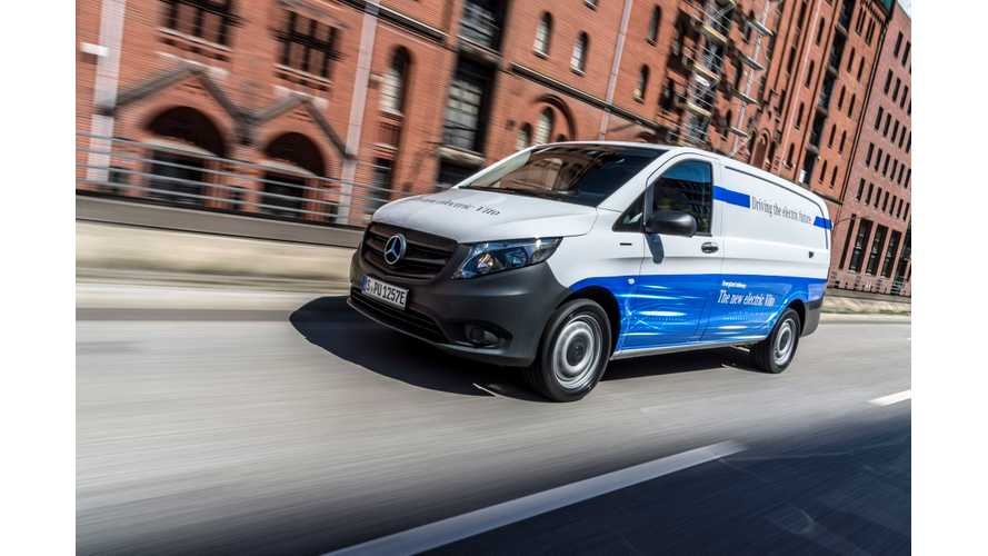 Amazon Orders Fleet Of Electric Mercedes Vans