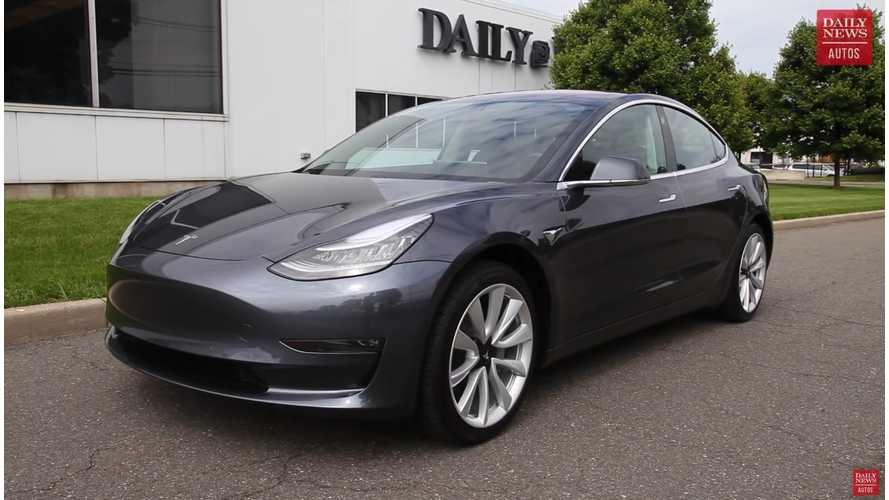 Watch This New Tesla Model 3 Review By NY Daily News