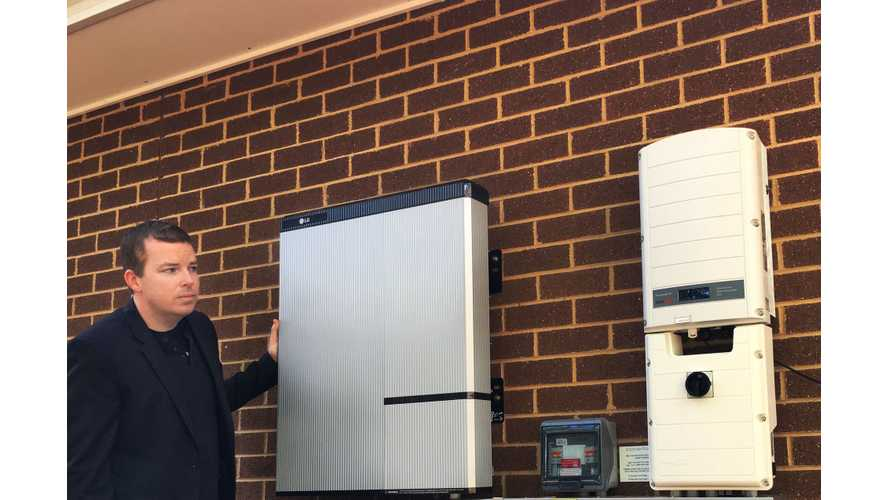 LG Chem Launches Residential Energy Storage Systems In U.S.