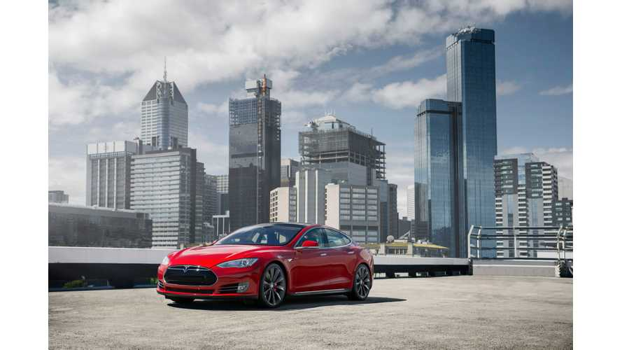 "Tesla Model S P85+ Judged ""Best Luxury Car Over $80,000"" - (w/video)"