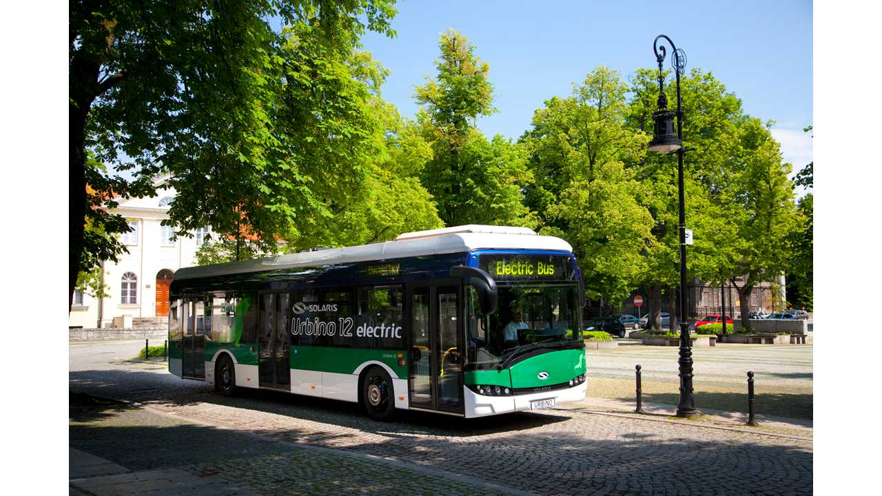 Poland Places Order For 10 Solaris Urbino Electric Buses