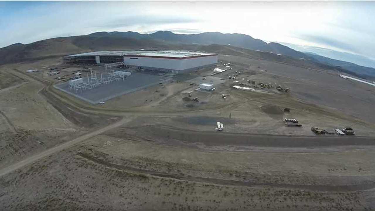 Tesla Gigafactory – Drone fly over – October 2015