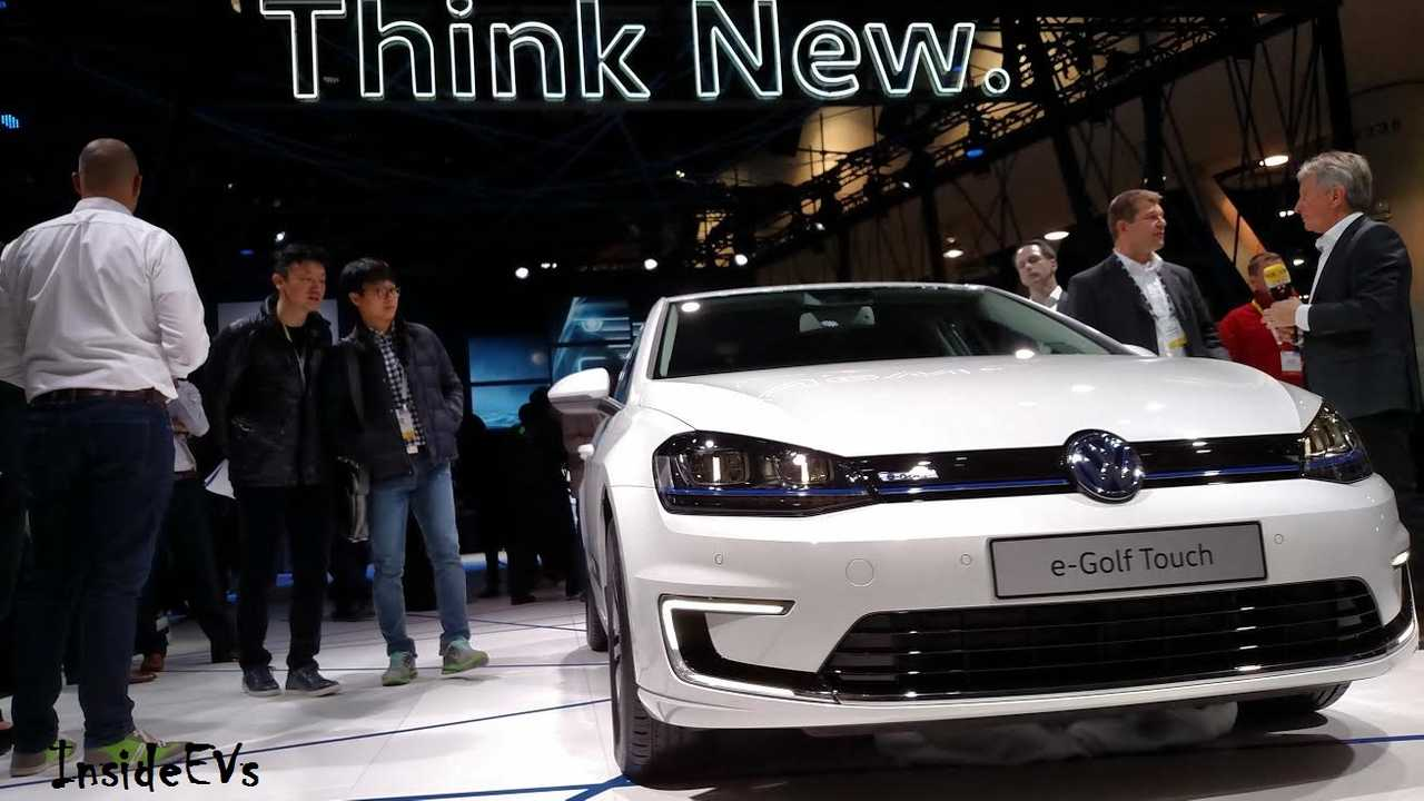 Volkswagen e-Golf To Get 30% More Range Thanks To Improved Batteries
