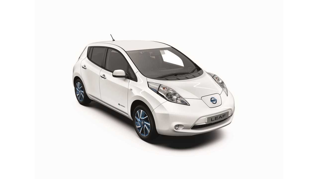 Nissan Releases New Trim Level For LEAF In Europe (Acenta+/Limited Edition)