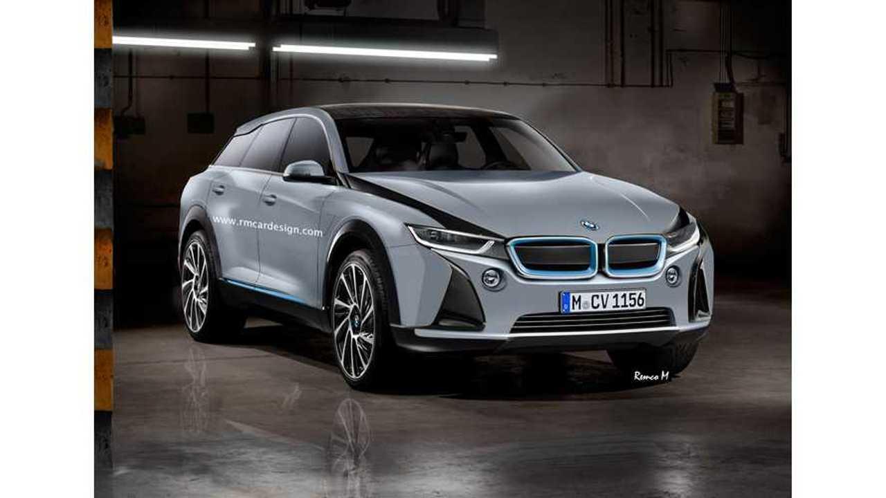 BMW i5 Rendering Shows Svelte Crossover