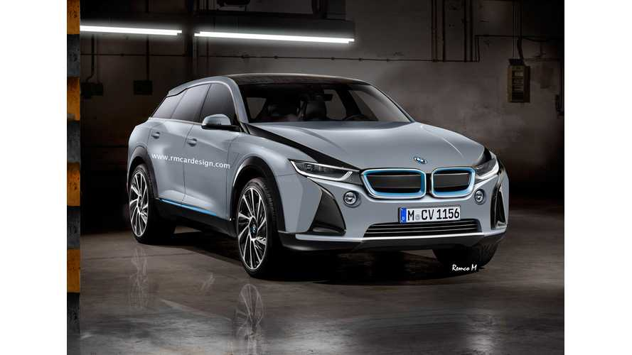 BMW i5 Rendering Shows Svelte Crossover