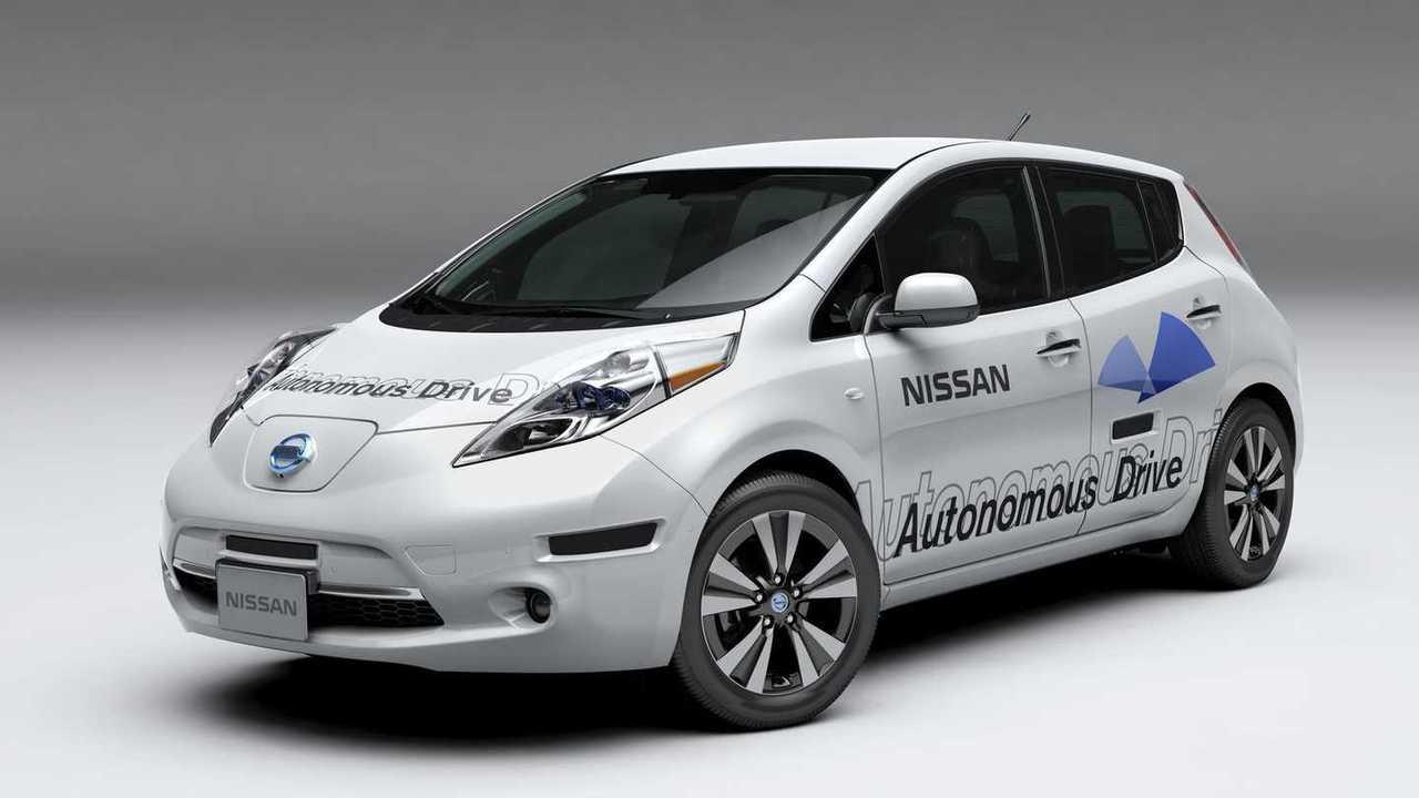 Autonomous Nissan Leaf Was The Base