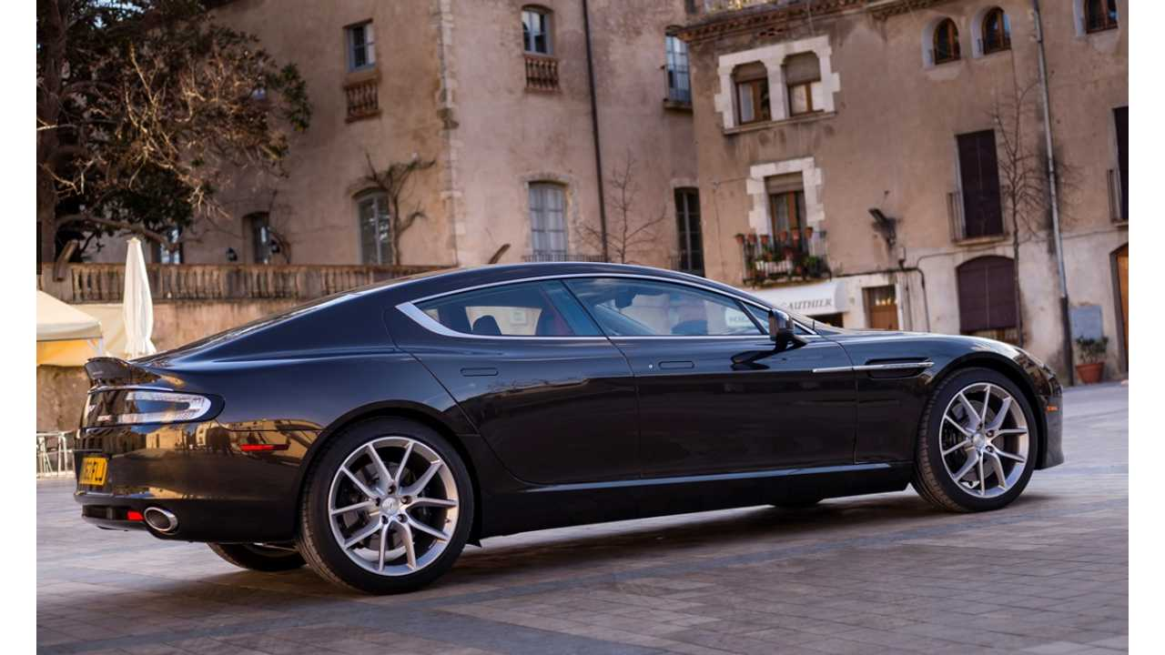 Aston Martin Rapide EV To Become 800 -1,000 HP Electric Supercar In 2017