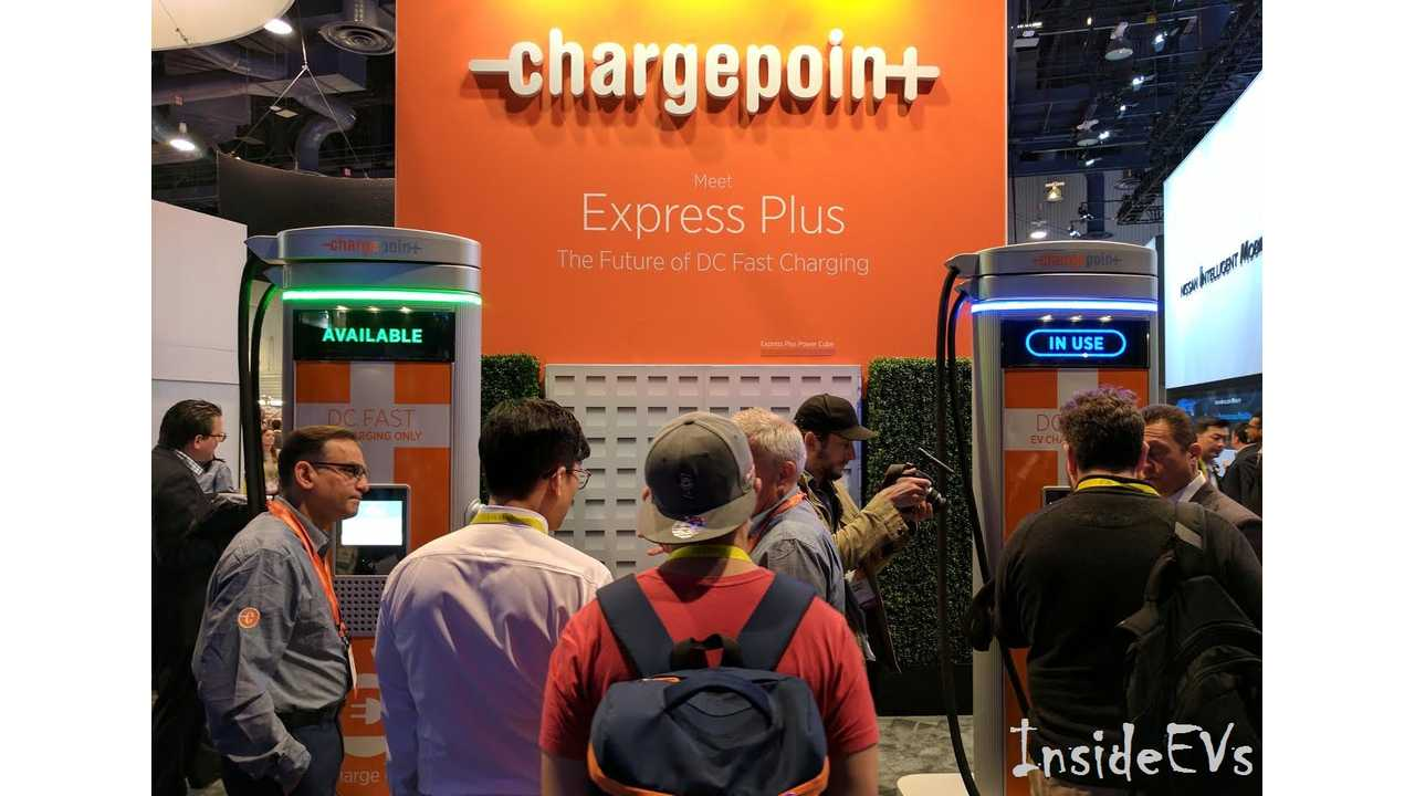 ChargePoint Power Express Plus debuted this week in Las Vegas at CES
