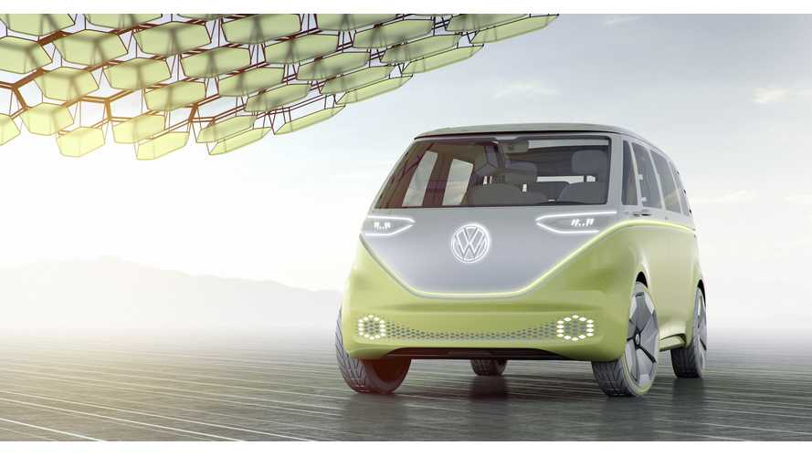 Volkswagen ID BUZZ: Iconic Microbus Reborn As 270 Mile All-Electric Vehicle