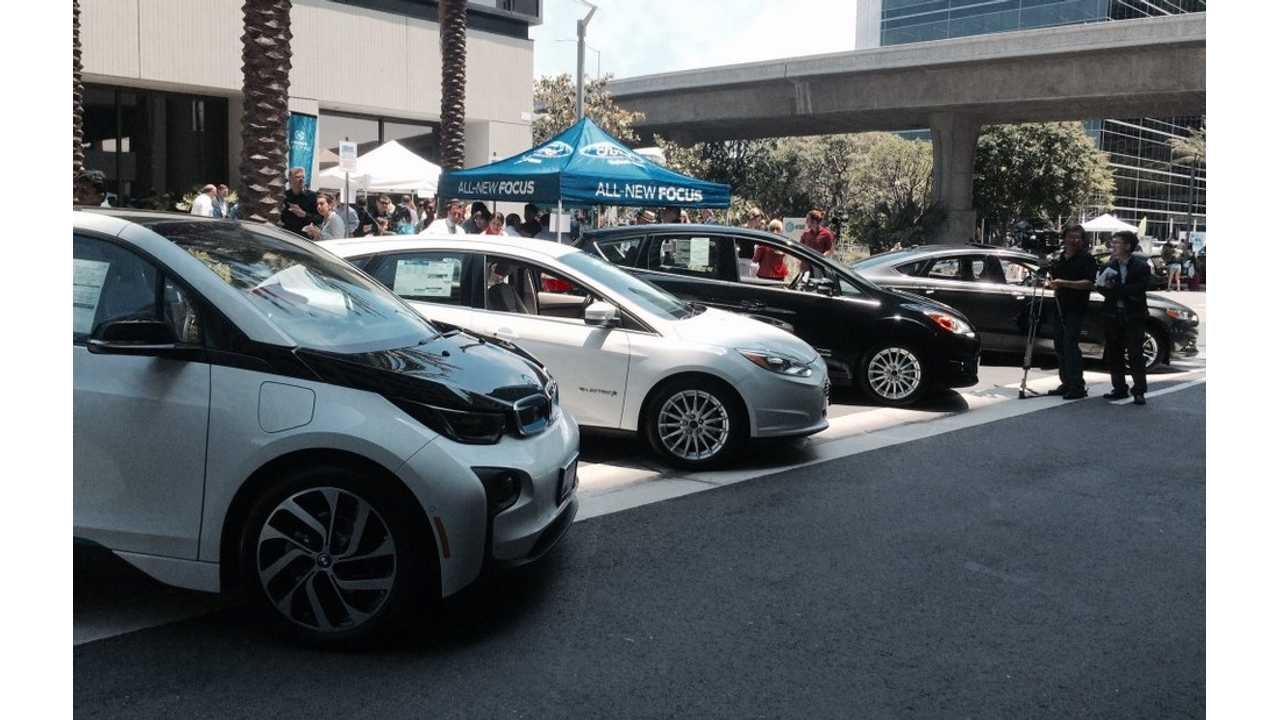 AT&T California And Statewide Electric Vehicle Collaborative Kick Off A Series Of Summer Ride-And-Drive Education Events