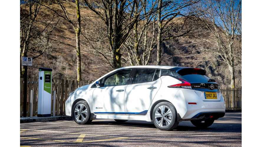 Nissan LEAF Takes European Sales Crown From Renault ZOE
