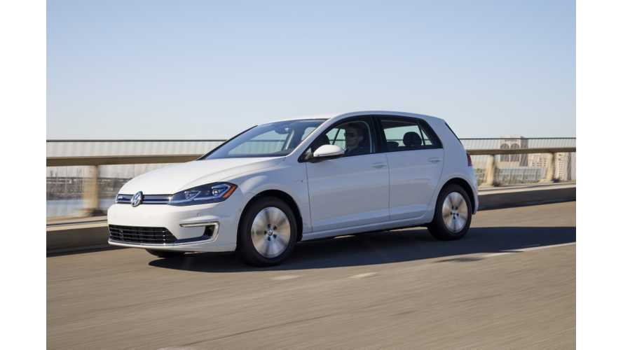 Volkswagen e-Golf Test Drive Review