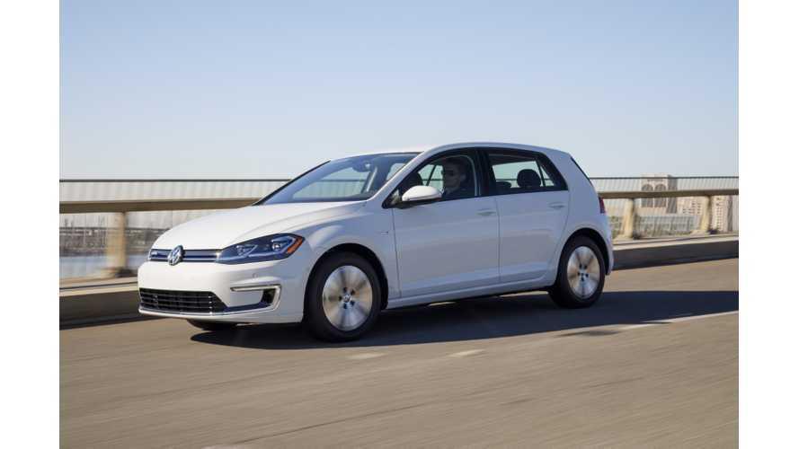 Volkswagen e-Golf Test Drive Review