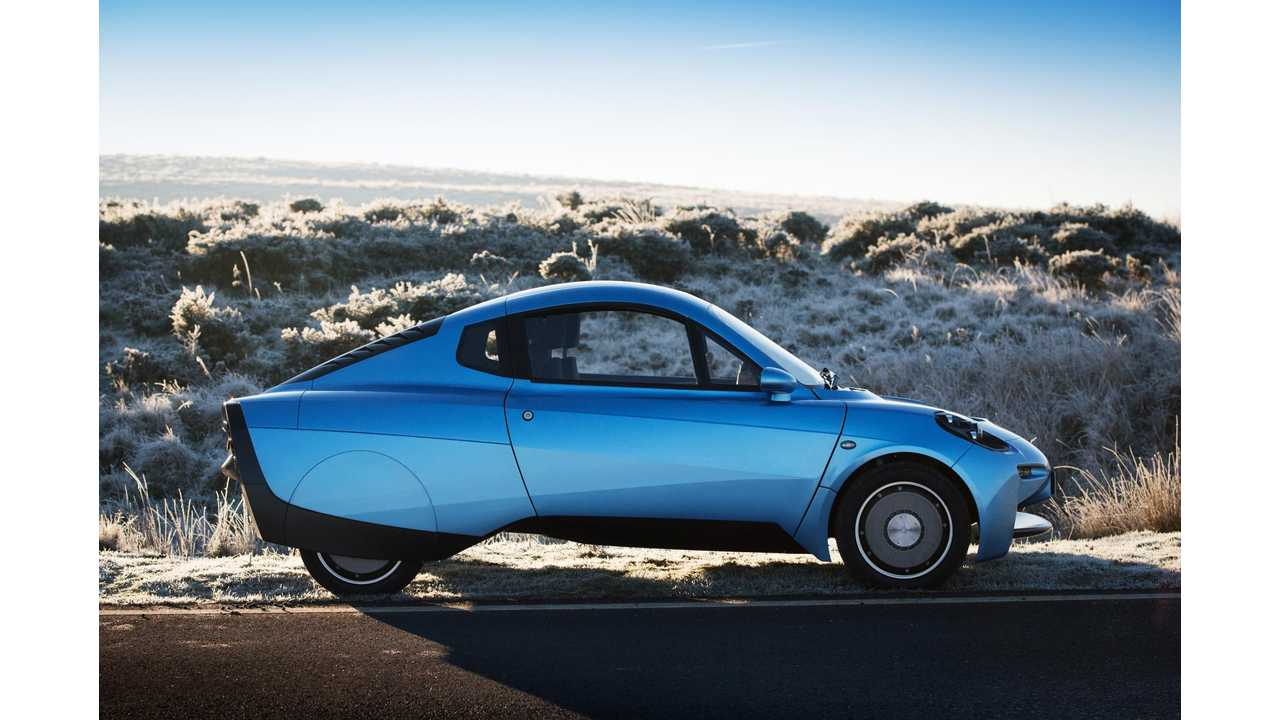 Riversimple Rasa - New Two-Seater Hydrogen Powered Car