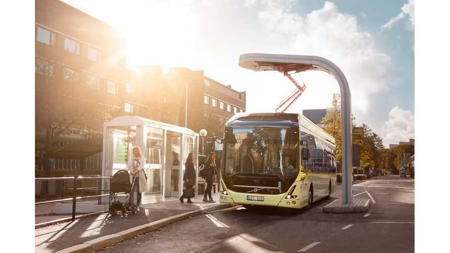 160 Electric Buses Expected To Be Added In Sweden