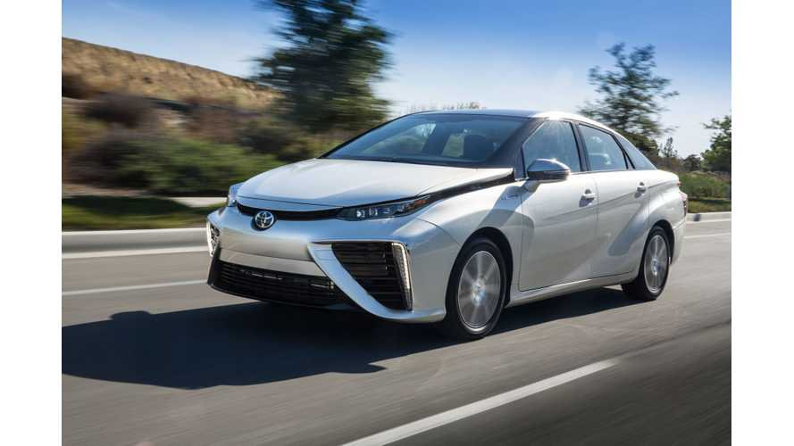 Toyota Mirai Featured In Fully Charged - Video