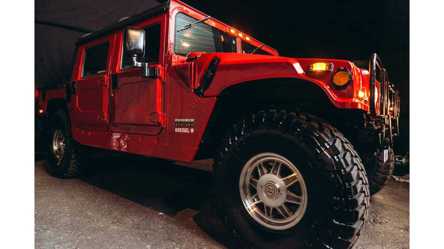 Electric Hummer By Kreisel Makes Its Driving Debut - Video