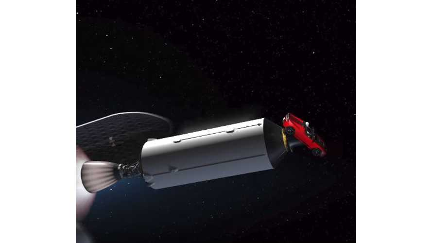Musk Posts Video Simulation Of Tesla Roadster Sent Into Space