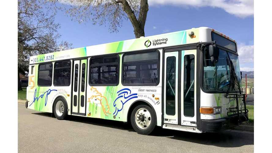 Colorado Repowering Diesel Buses With Lightning Systems